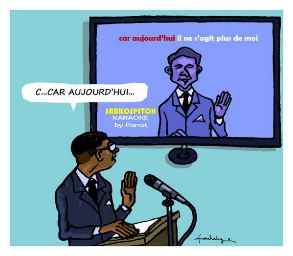 Plagiat Sarkozy