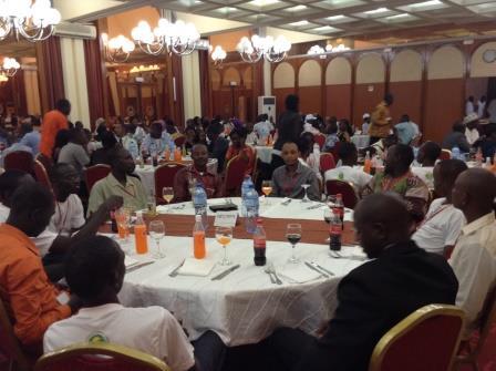 Le Gouvernement du Niger a offert un dîner gala de bienvenu aux participants