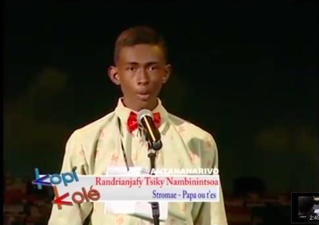 """Stromae a son sosie malgache dans """"Kopi Kolé"""""""